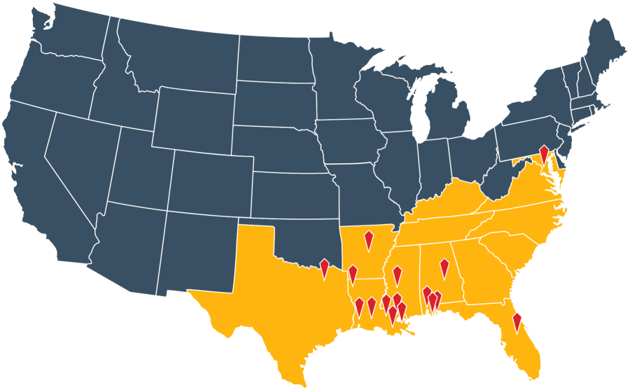 IPSC Locations across the United States